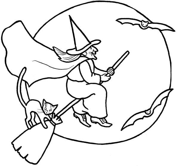 free halloween coloring book pages - photo#42