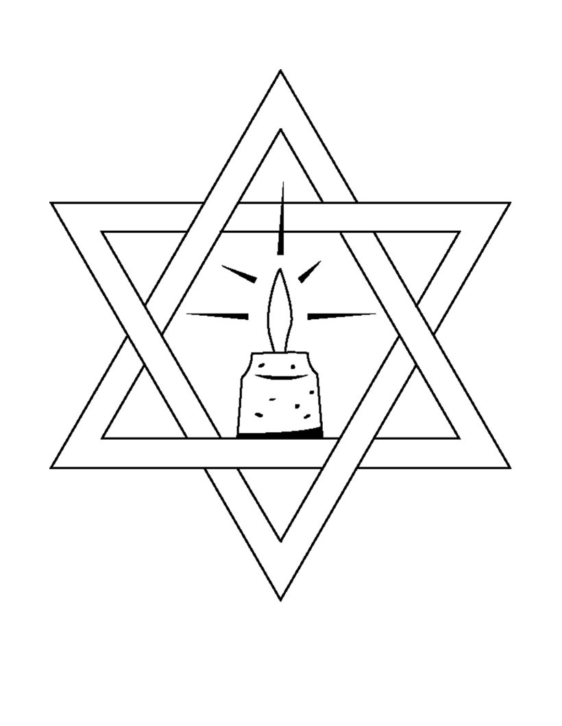 star of david coloring page free printable star coloring pages for kids