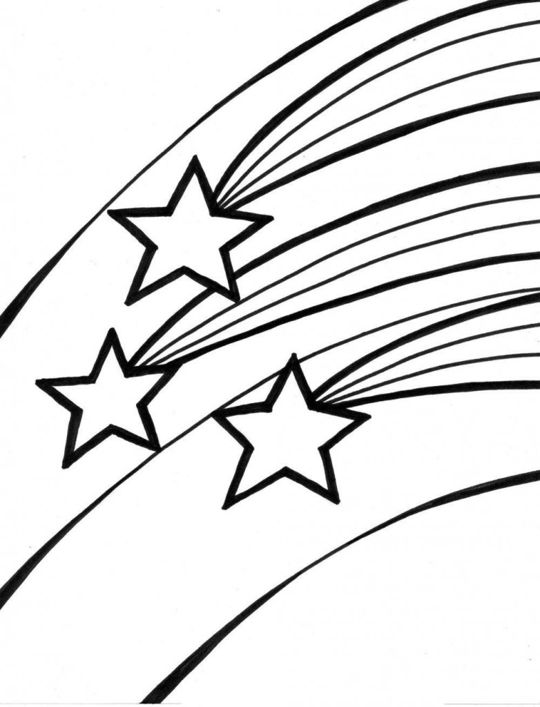 star coloring pages for toddlers - photo#12
