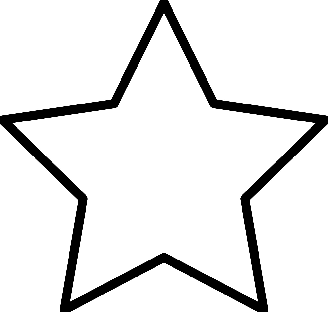 star coloring pages for toddlers - photo#9