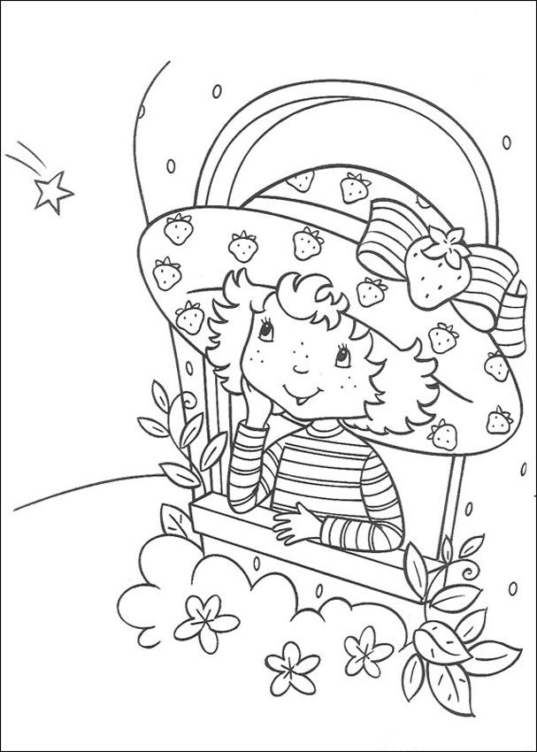 Strawberry Shortcake And All Friends Coloring Pages