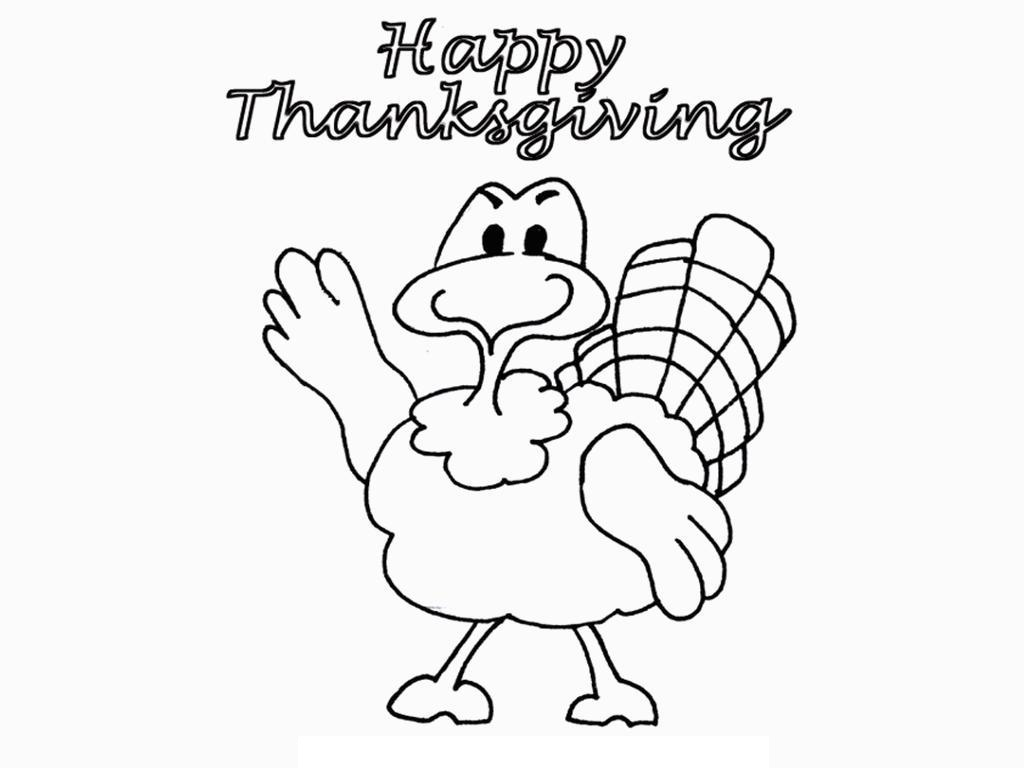 Thanksgiving Coloring Worksheet : Free printable thanksgiving coloring pages for kids