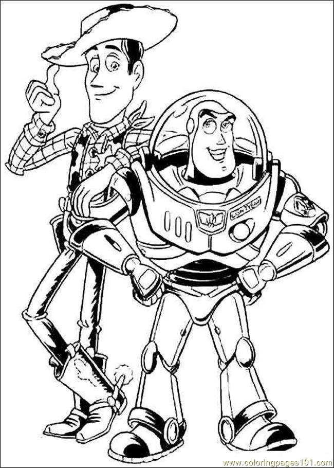 Toy Story Coloring Pages For Kids
