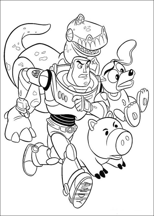 Toys Story Coloring Pages