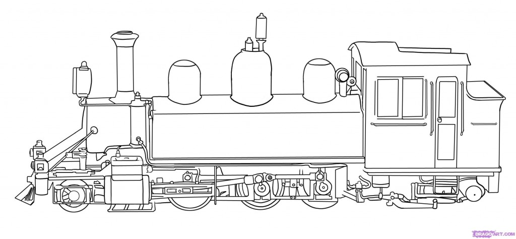 Train Cars Coloring Pages Color Page