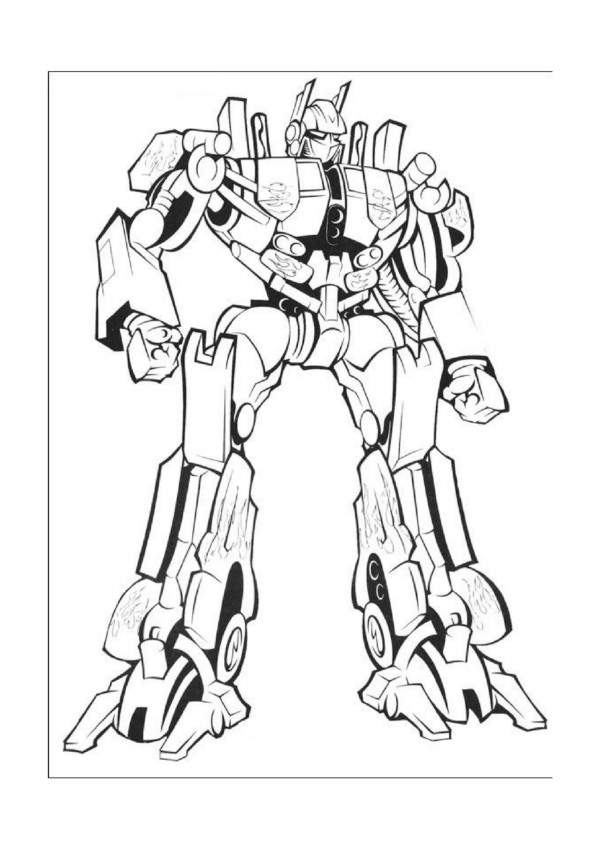 - Free Printable Transformers Coloring Pages For Kids