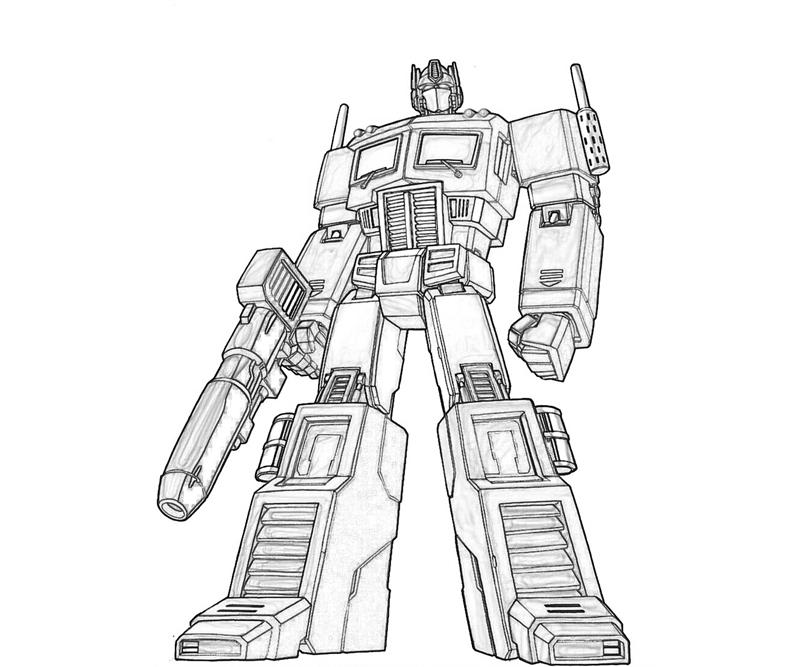 transformer coloring pages free - photo#15