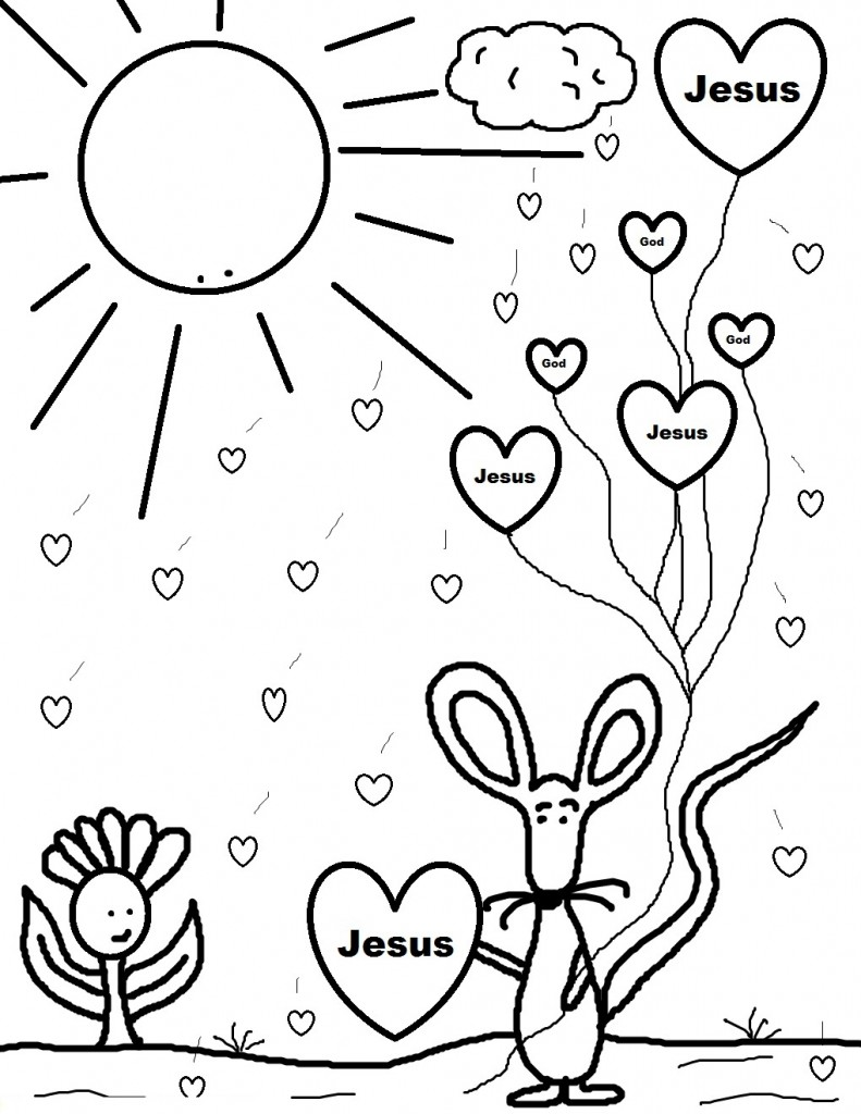 Day coloring pages to print ~ Free Printable Valentine Coloring Pages For Kids