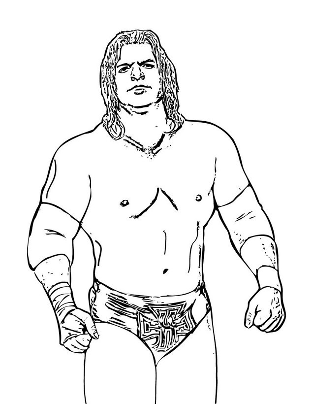 WWE Coloring Pages Online