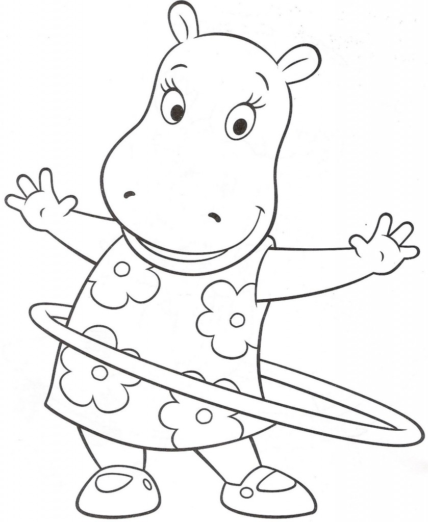 Backyardigan Coloring Pages Pictures