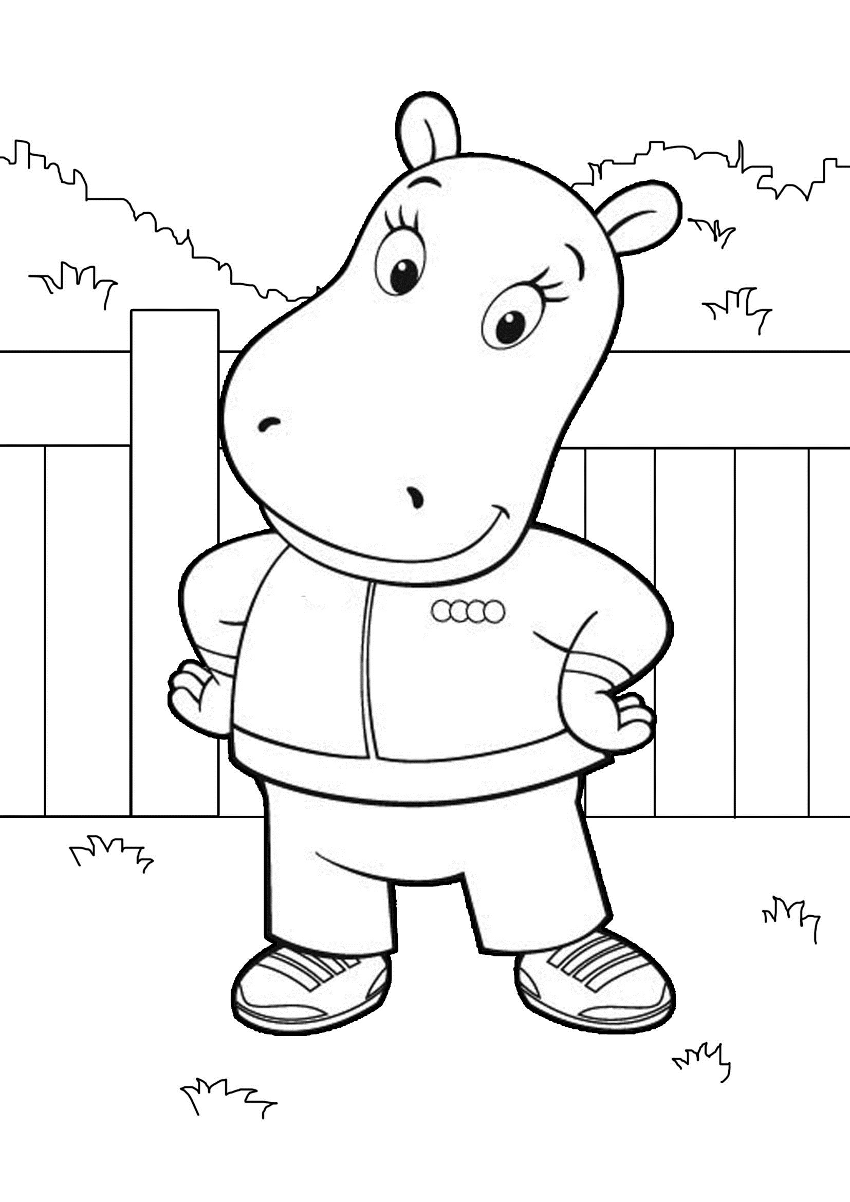 free coloring pages of children - photo#38