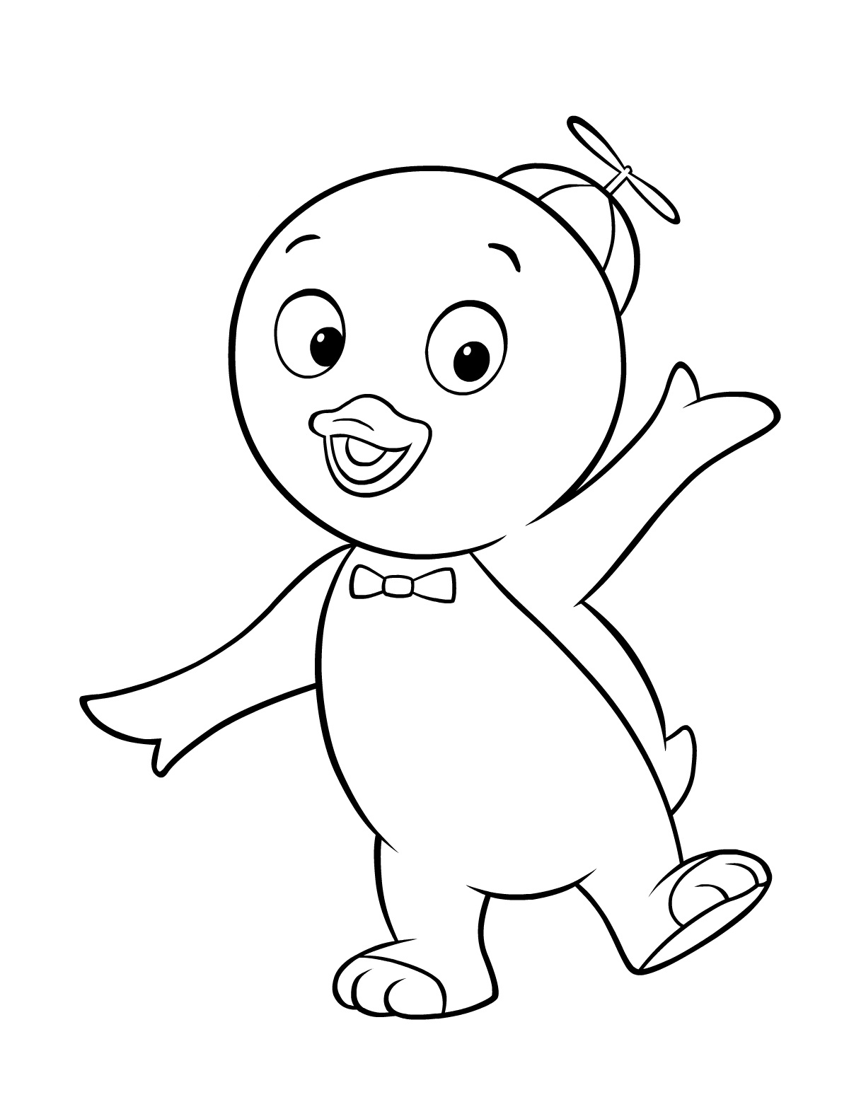 Free printable backyardigans coloring pages for kids for Free online color pages