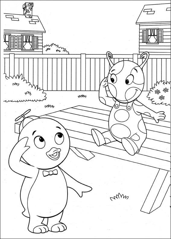 Backyardigans Printable Coloring Pages