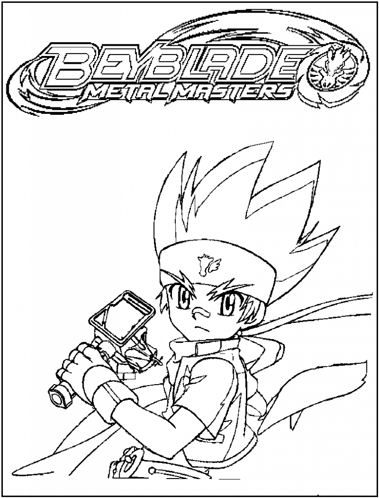 Free printable beyblade coloring pages for kids - Dessin beyblade ...