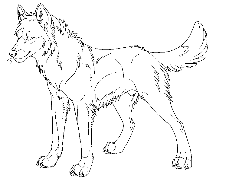 photograph about Wolf Coloring Pages Printable named Free of charge Printable Wolf Coloring Web pages For Children