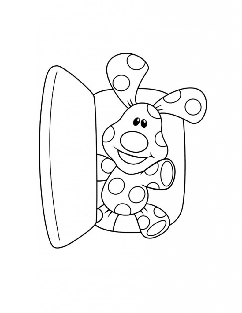 Blue Clues Coloring Pages To Print