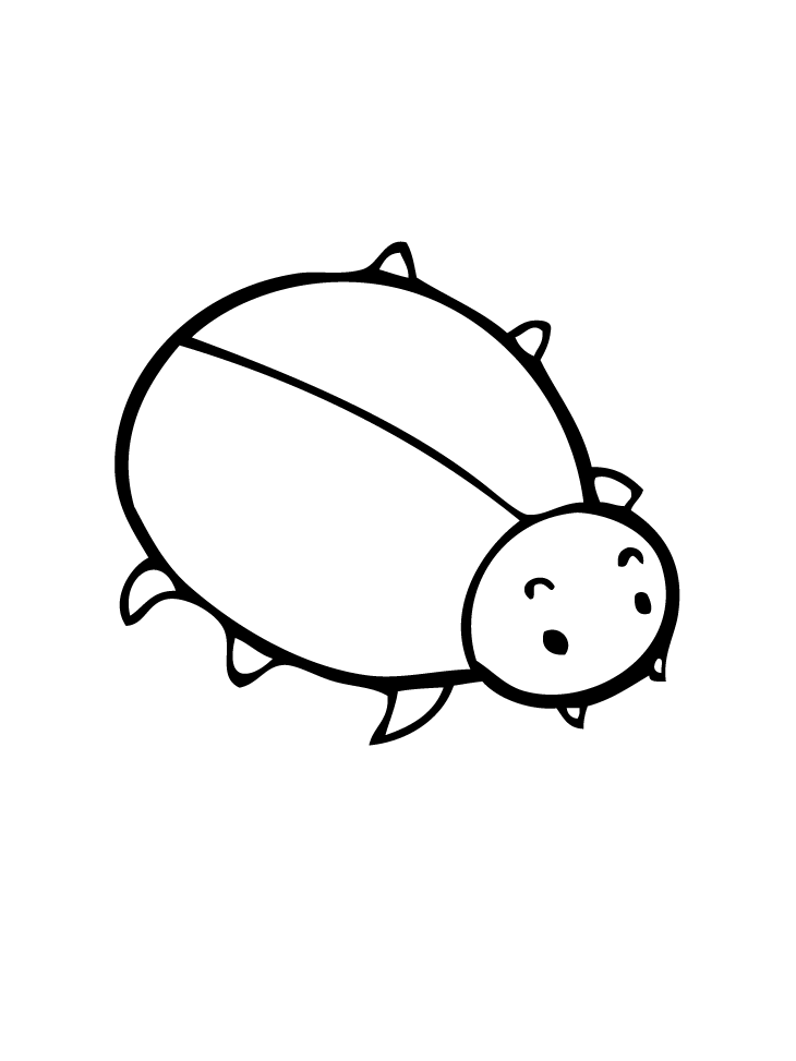 Little Bug Coloring Page