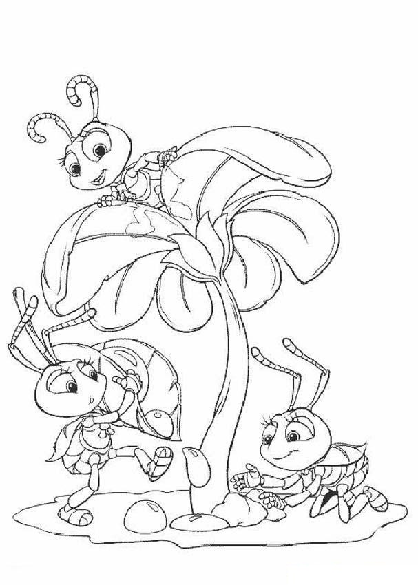 Bugs Coloring Pages To Print