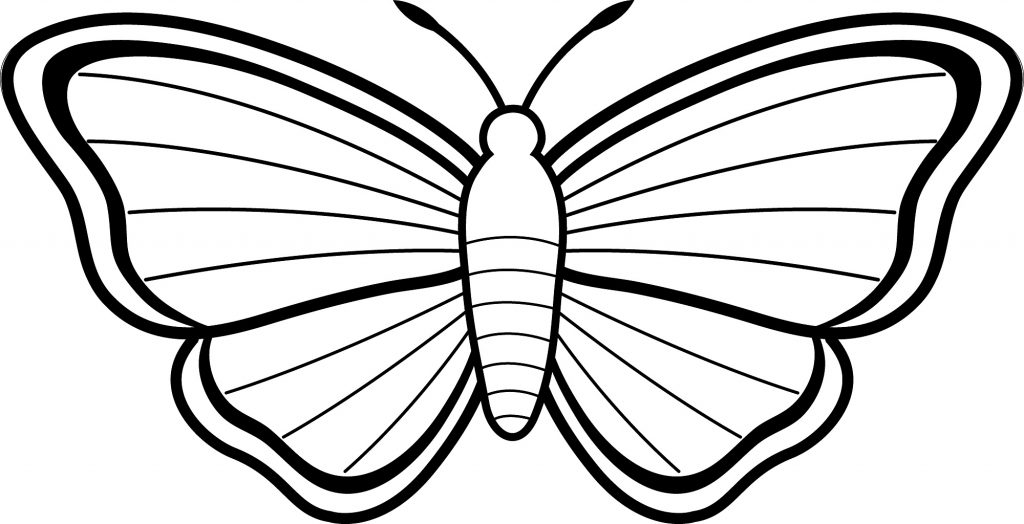Free Printable Butterfly Coloring Pages For Kids - Kids-coloring-pictures