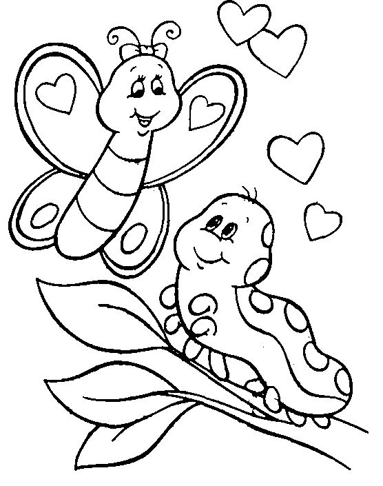 Top 50 Free Printable Butterfly Coloring Pages Online | 705x556
