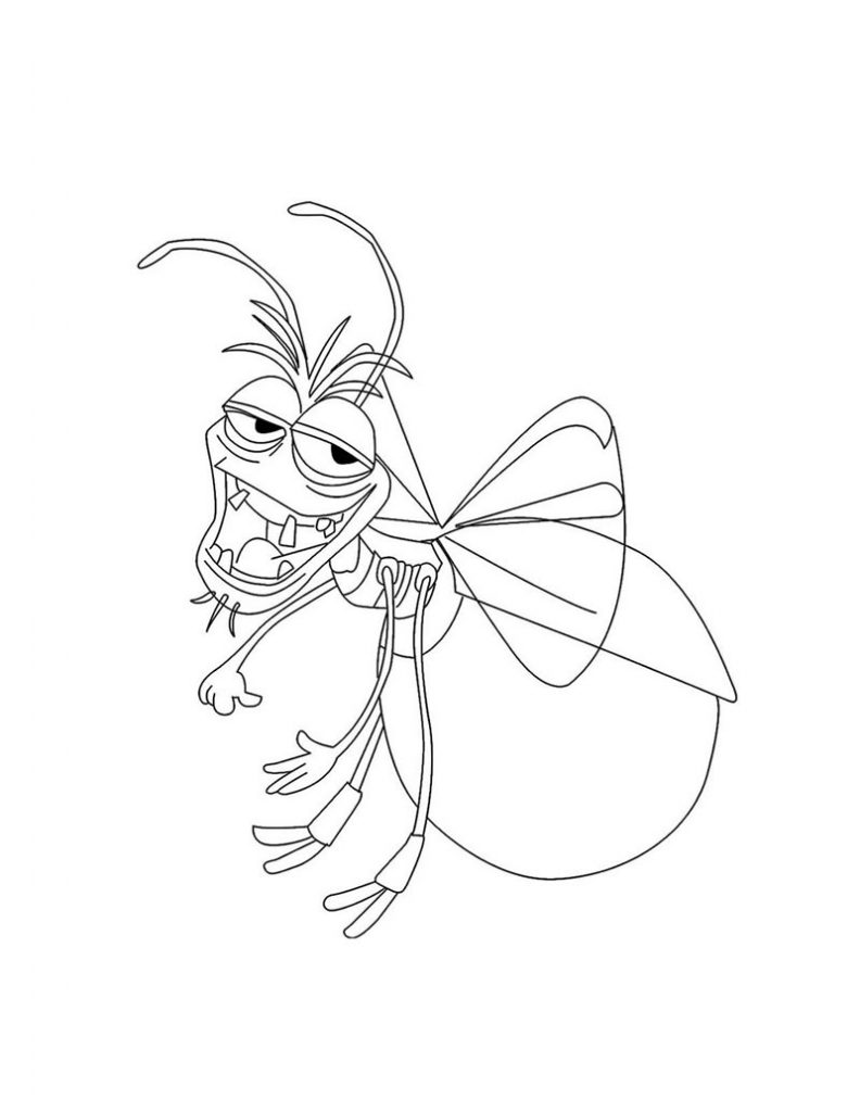Cartoon Bug Coloring Pages