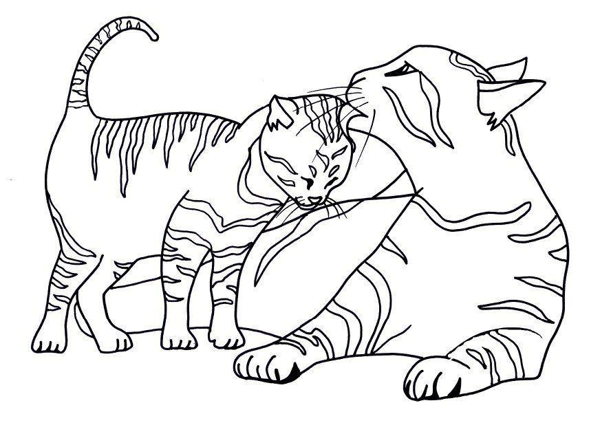 Cat And The Hat Printable Coloring Pages