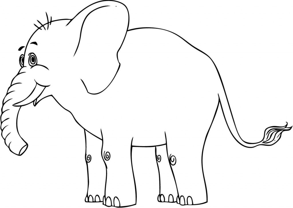 elephants coloring page free printable elephant coloring pages for 1956