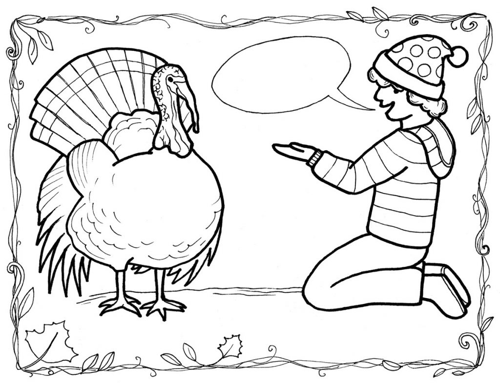 free coloring pages of children - photo#48