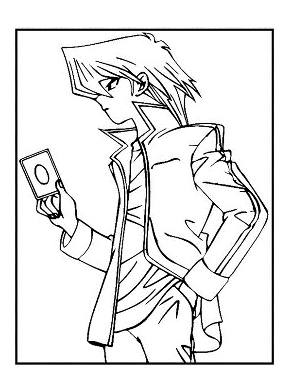 Coloring Pages of Yugioh