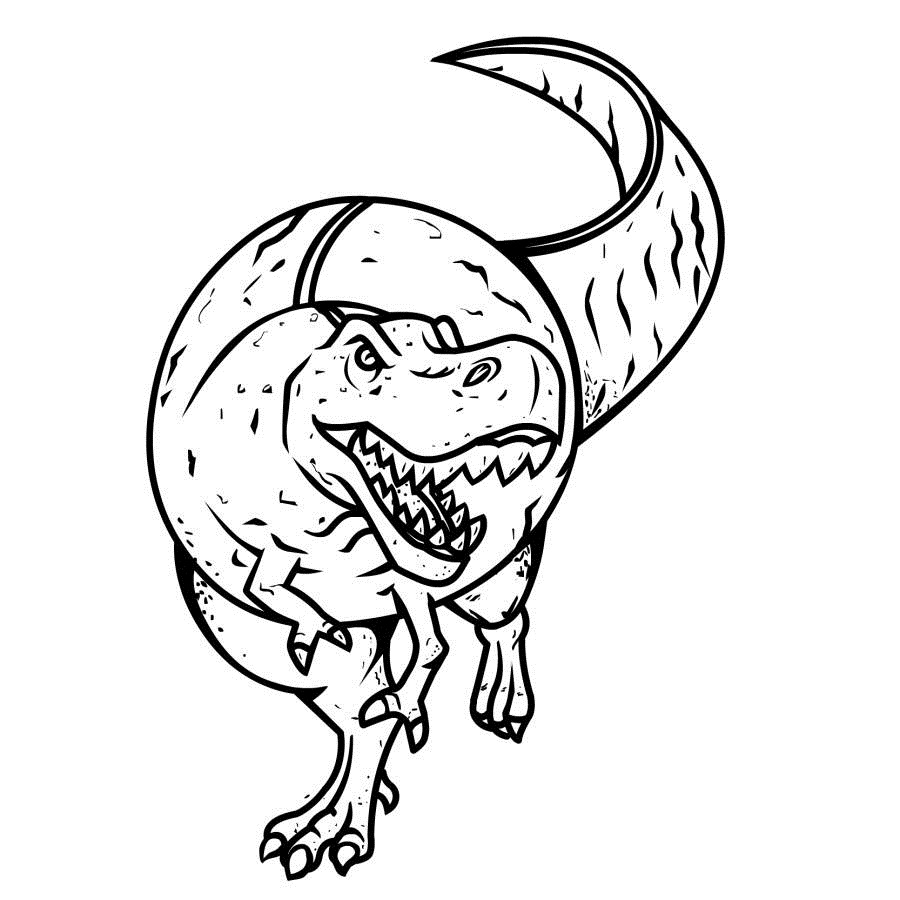 kids dinosaur coloring pages - photo#26