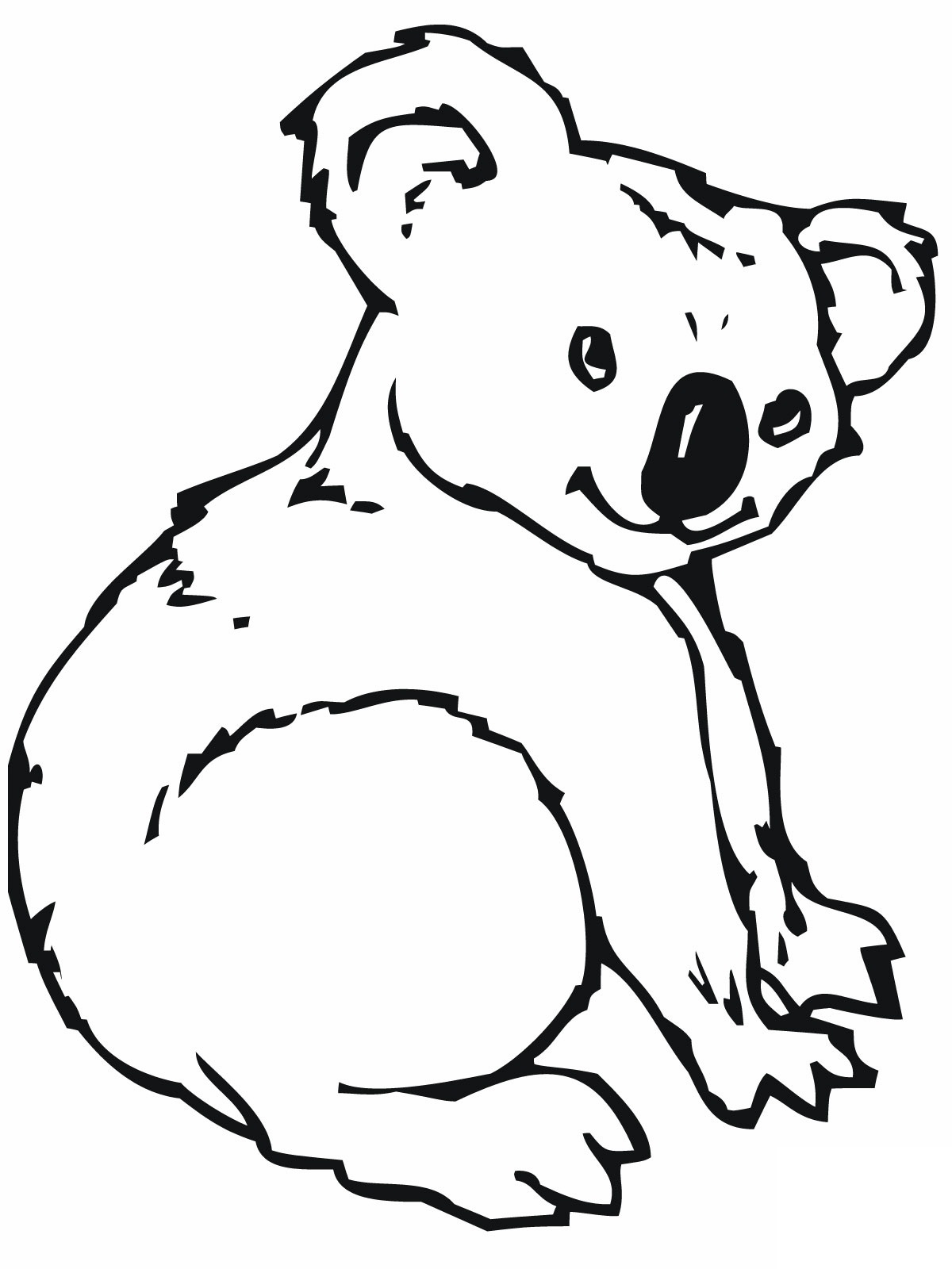 koala bear coloring pages - photo#5