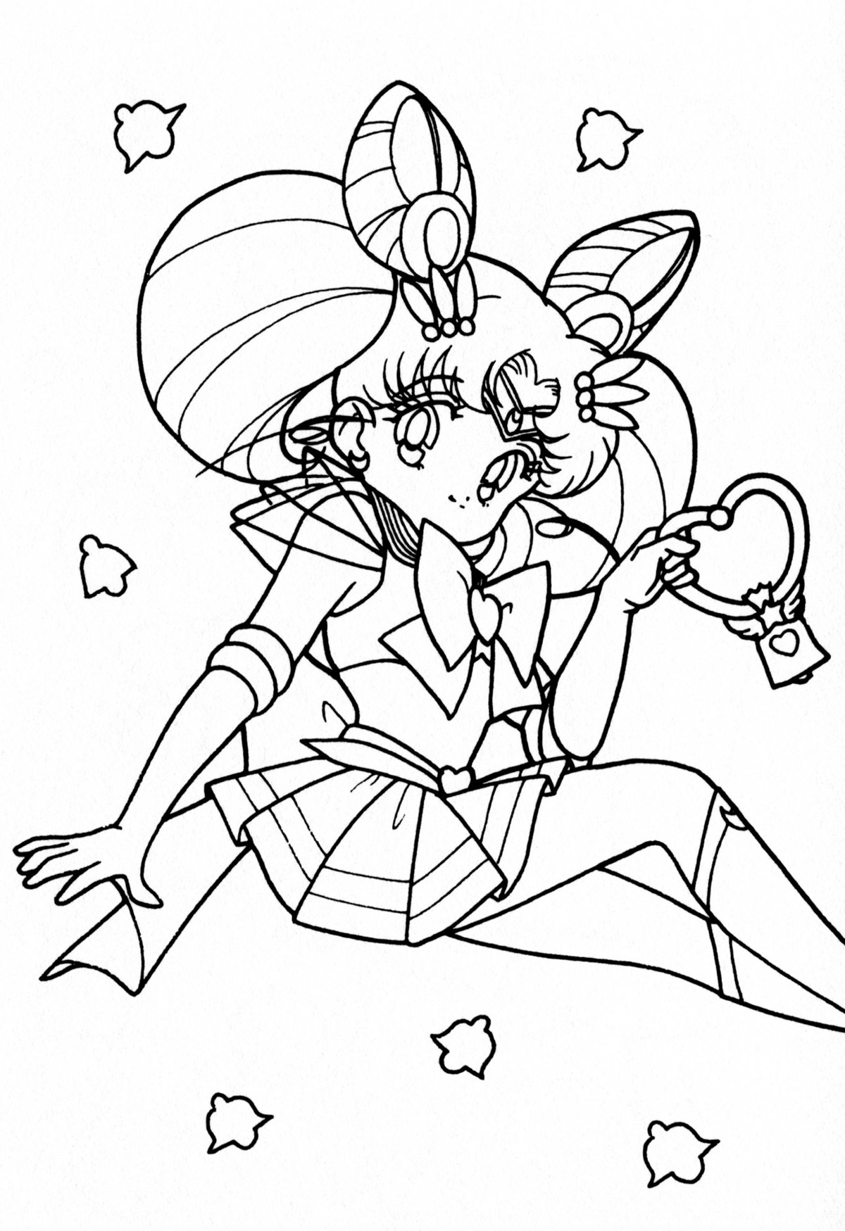 Cartoons Coloring Pages: Sailor Moon Coloring Pages | 1749x1200