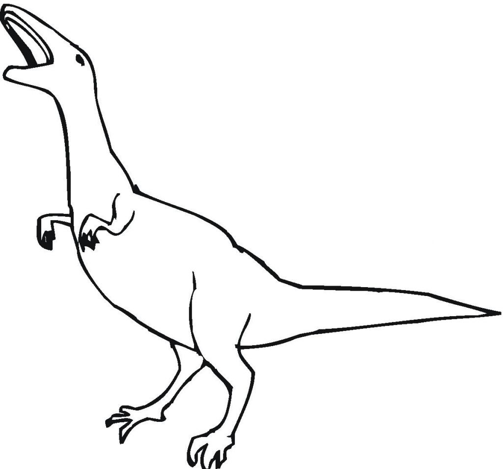 Dinosaurs Coloring Pages For Kids