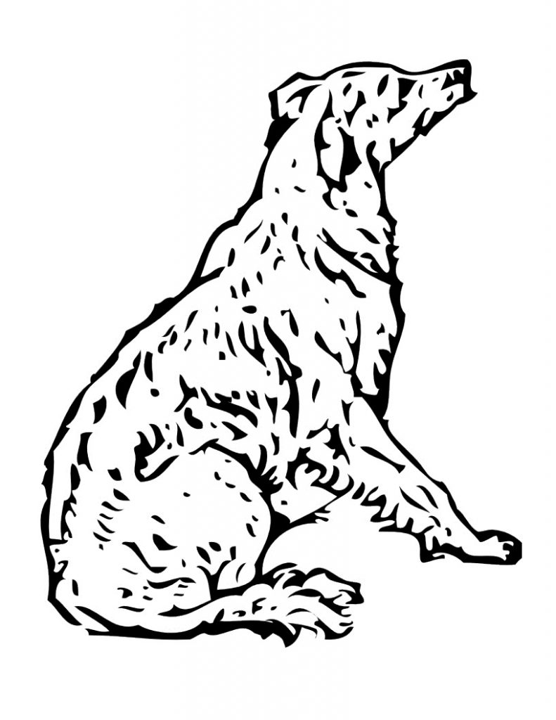 coloring book pages dogs - photo#44