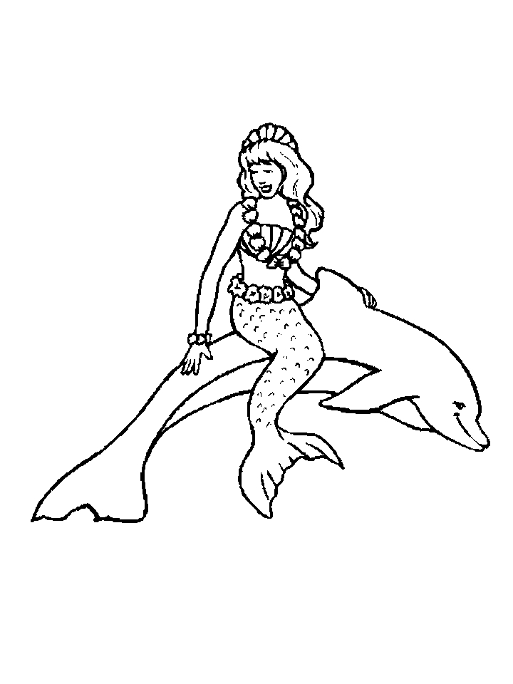 Free Printable Dolphin Coloring Pages For Kids