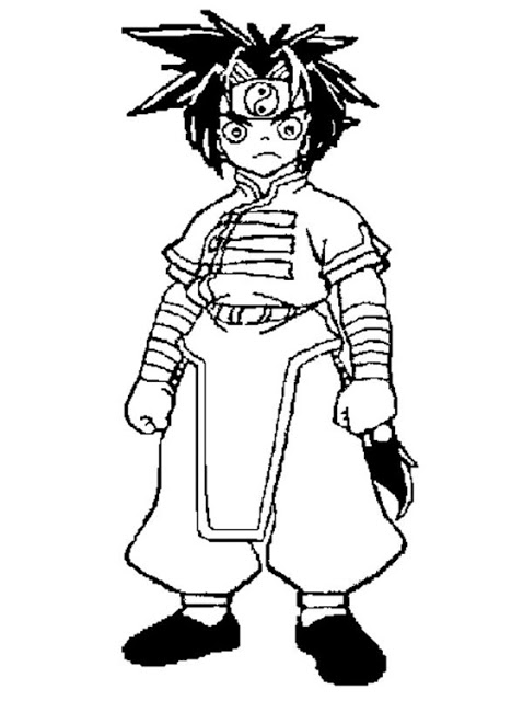 Free Beyblade Coloring Pages For Kids