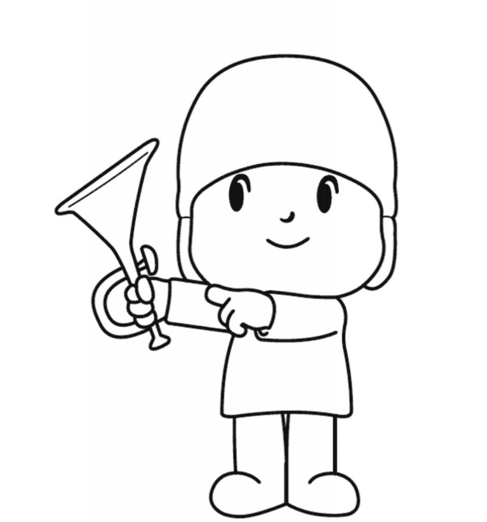 Free Pocoyo Coloring Pages