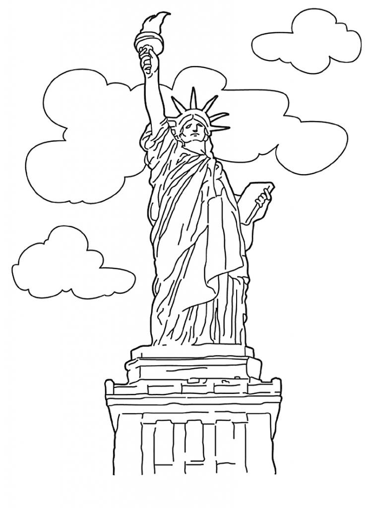 coloring pages liberty - photo#3