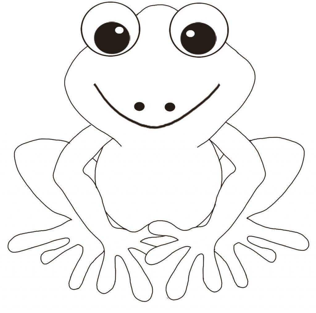 Modest image for frog printable
