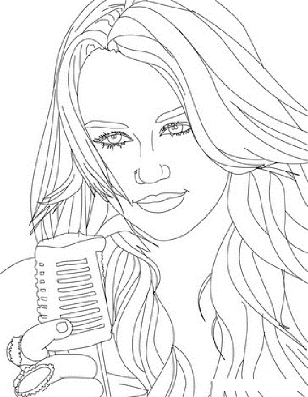 free coloring pages for hanah - photo#16