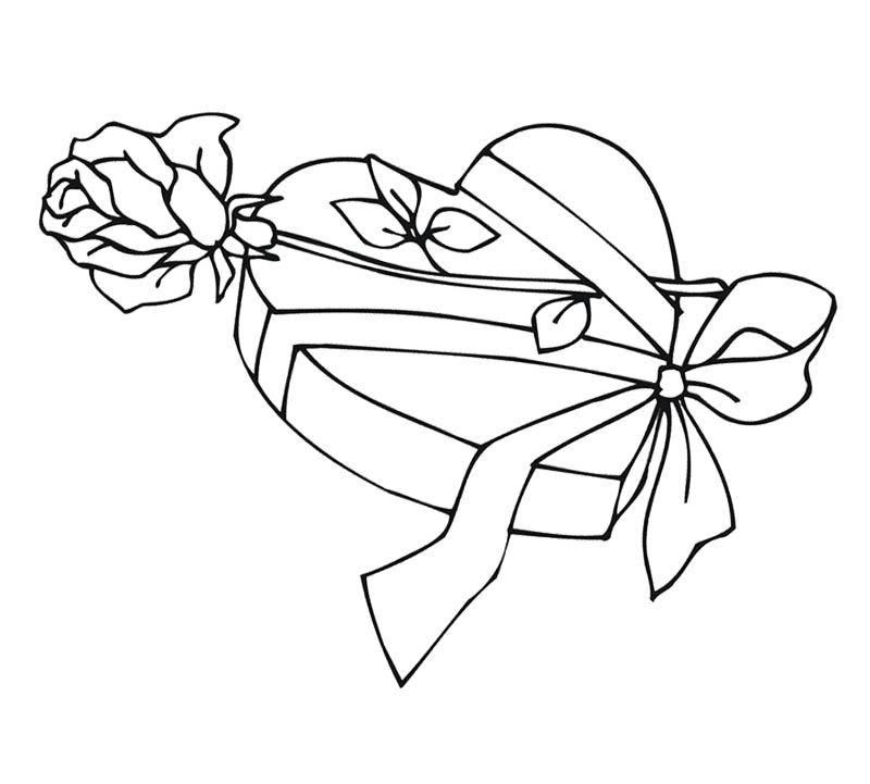 Typical letter box coloring page | Download Free Typical letter ... | 721x800