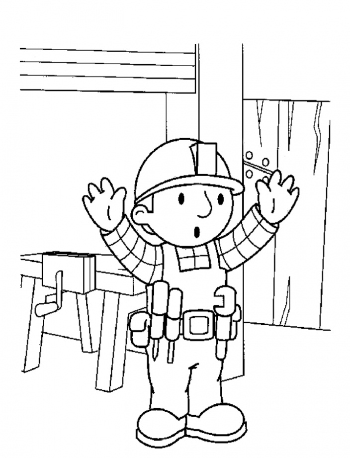 Images of Bob The Builder Coloring Pages