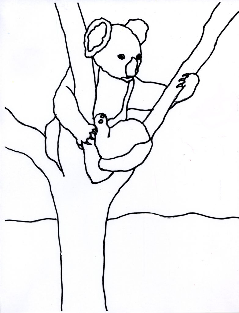 Koala Coloring Pages Pictures