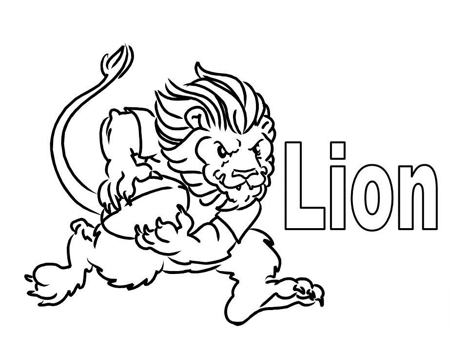 Lion Coloring Pages Pictures