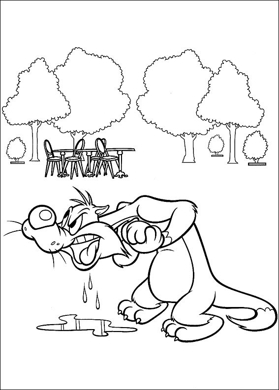 Looney Tunes Coloring Page