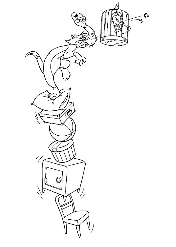 Looney Tunes Coloring Pages Pictures