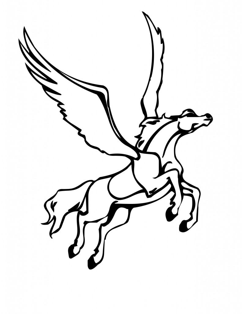 Pegasus Coloring Pages Pictures