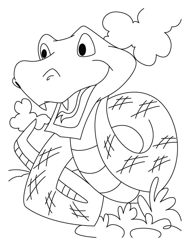 Photos of Snake Coloring Pages