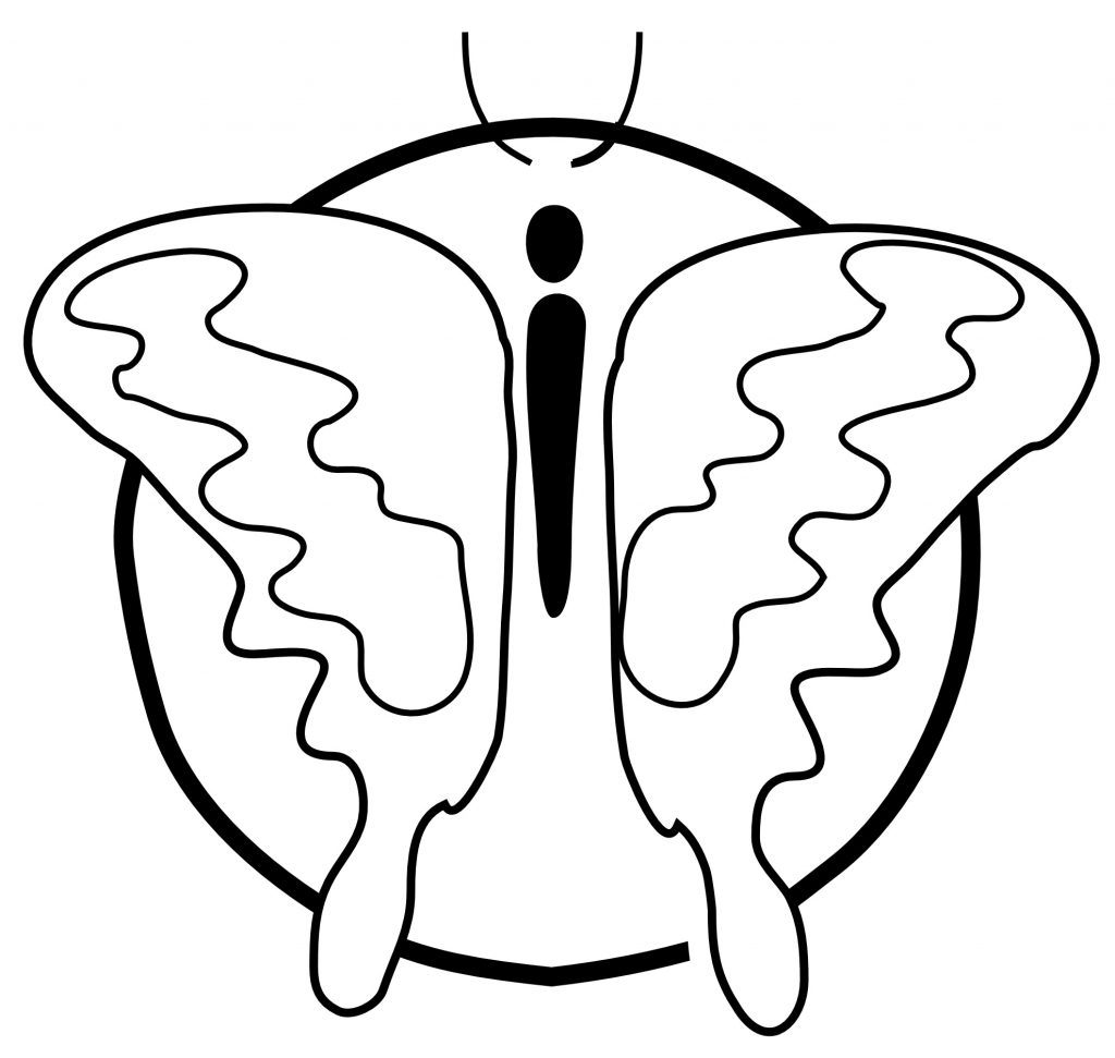 Printable Coloring Pages of Butterflies