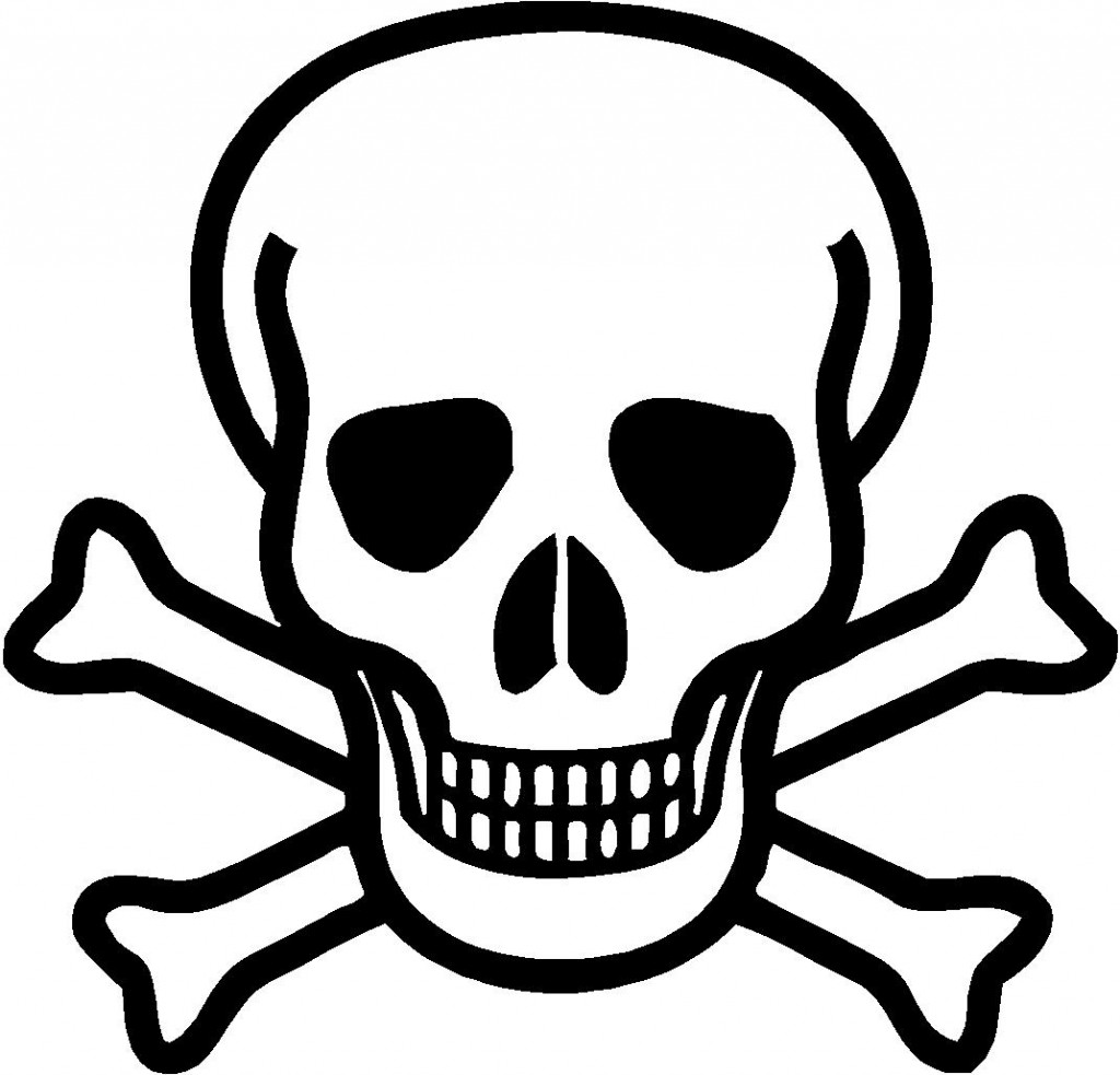 Skull Coloring Pages Images